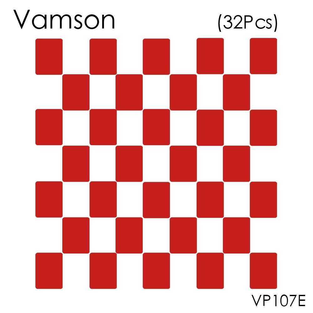 все цены на Vamson 32pcs Red VHB Adhesive Sticker Flat Double Side Adhesive Tape For Gopro hero 5 4 3+ 2 SJ4000 Helmet Mount VP107E