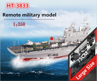 New RC warship ht 3833 2.4G wireless remote control 1:350 American hornet amphibiour assault remote control rc boat ship model