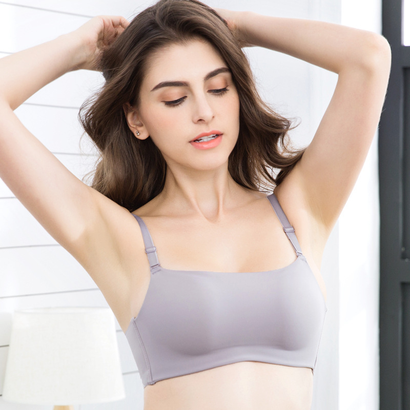 822b6e24e28 Sexy Bras For Women Wire Free Lingerie Brassiere Push Up Bra 3 4 Cup  Bralette Seamless Underwear  D