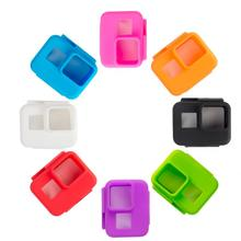 Action Camera Soft Silicone Case Camera Body Protector Case Camera Shell Skin Cover Frame for GoPro Hero5 Generation GP397