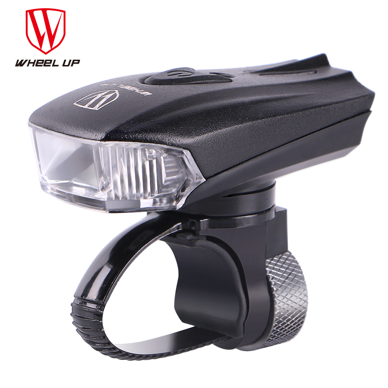 WHEEL UP LED USB Oppladbar sykkellys foran Sykkel Hovedlykter Vanntett MTB Road Sykling Flash-Light Touch Night Safe