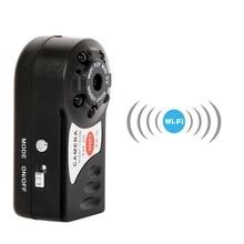 Wi-Fi мини Q7 Камера 480 P DV DVR Беспроводной cam мини видеокамера рекордер инфракрасного ночного видения