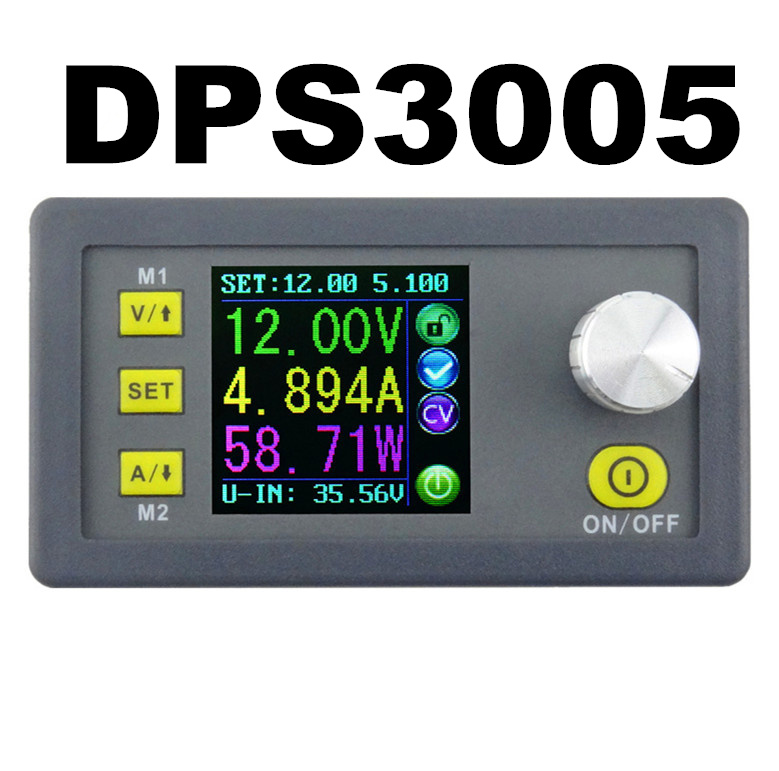 DPS3005 constant Voltage constant  current Step-down Programmable control Supply Power module color LCD voltmeter 50% off