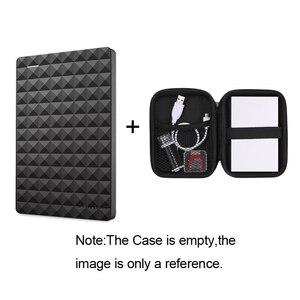 """Image 3 - سيجيت المحمولة 1 تيرا بايت HDD 2.5 """"قرص صلب خارجي 1 تيرا بايت/2 تيرا بايت/4 تيرا بايت USB 3.0 قرص صلب أسود للكمبيوتر المحمول ديسكو دورو Externo"""