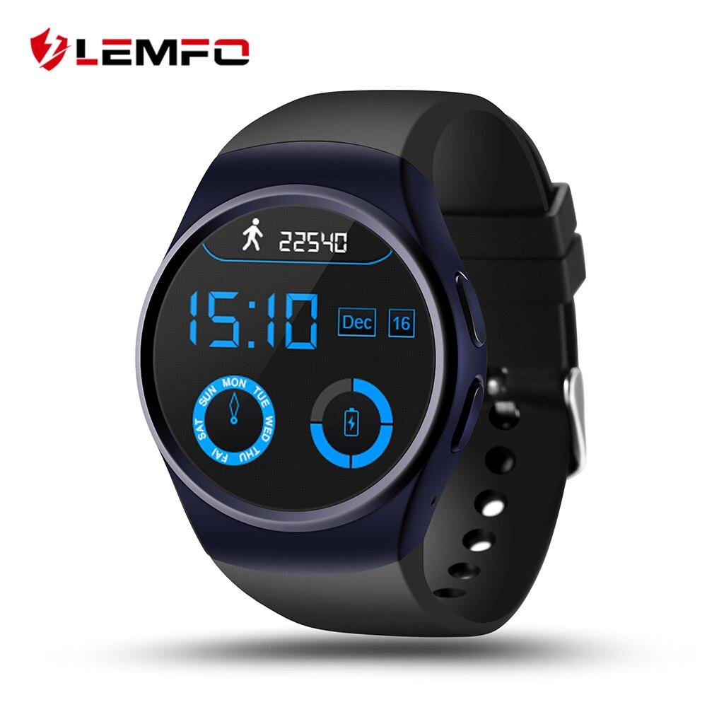 Was Ist Eine Tf Karte.Us 47 99 Lemfo Lf18 Smart Uhr Telefon Unterstützung Sim Tf Karte Herz Rate Monitor Smart Uhr Für Ios Android Smartphone In Lemfo Lf18 Smart Uhr
