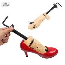 1 Piece Shoe Expander Wooden Shoes Tree Shaper Rack,Wood Adjustable Flats Pumps Boots Expander Trees Size S/M/L Man Women 7479 brand adjustable expander vintage shoes tree shaper rack 1 piece metal shoe stretcher aluminum alloy shoe trees for men women