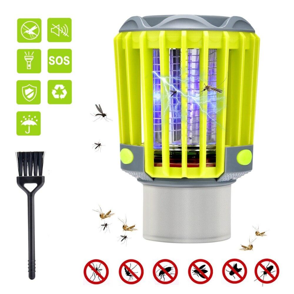3 in 1 Mosquito Zapper Lantern Camping Light USB Charging Killer Lamp Multi-Purpose Pest Repeller Waterproof Bug