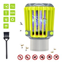 3 in 1 Mosquito Zapper Lantern Camping Light USB Charging Mosquito Killer Lamp Multi-Purpose Pest Repeller Waterproof Bug Killer стоимость