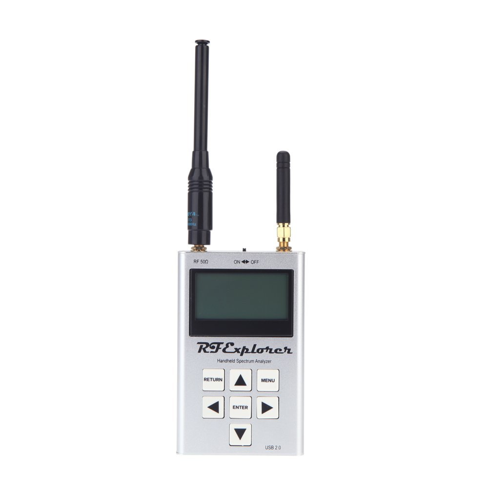 AYHF-RF Explorer-3G Combo 15-2700 MHz Handheld Digital Spectrum Analyzer LCD Display 15-2700 MHz 112KHz - 600MHz 113*70*25mm