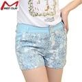 Lace Mini Curto Mulheres Sexy Flor Shorts Feminino Mujer de Verano Mujer Pantalones Cortos YL788