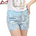 Lace Mini Short Women Sexy Flower Shorts Feminino Pantalones Cortos Mujer De Mujer Verano YL788
