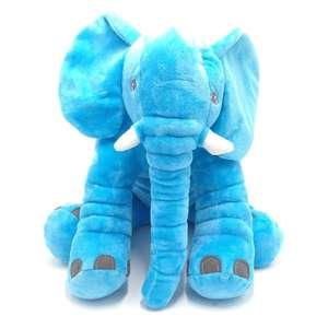 Image 2 - Cammitever 코끼리 쿠션 플러시 베개 동물 완구 귀여운 코끼리 인형 장난감 어린이 소녀 키즈 홈 베개 소파