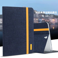 Silicon Cloth PU Leather Case For Samsung Galaxy Tab S3 9 7 T820 T825 SM T820
