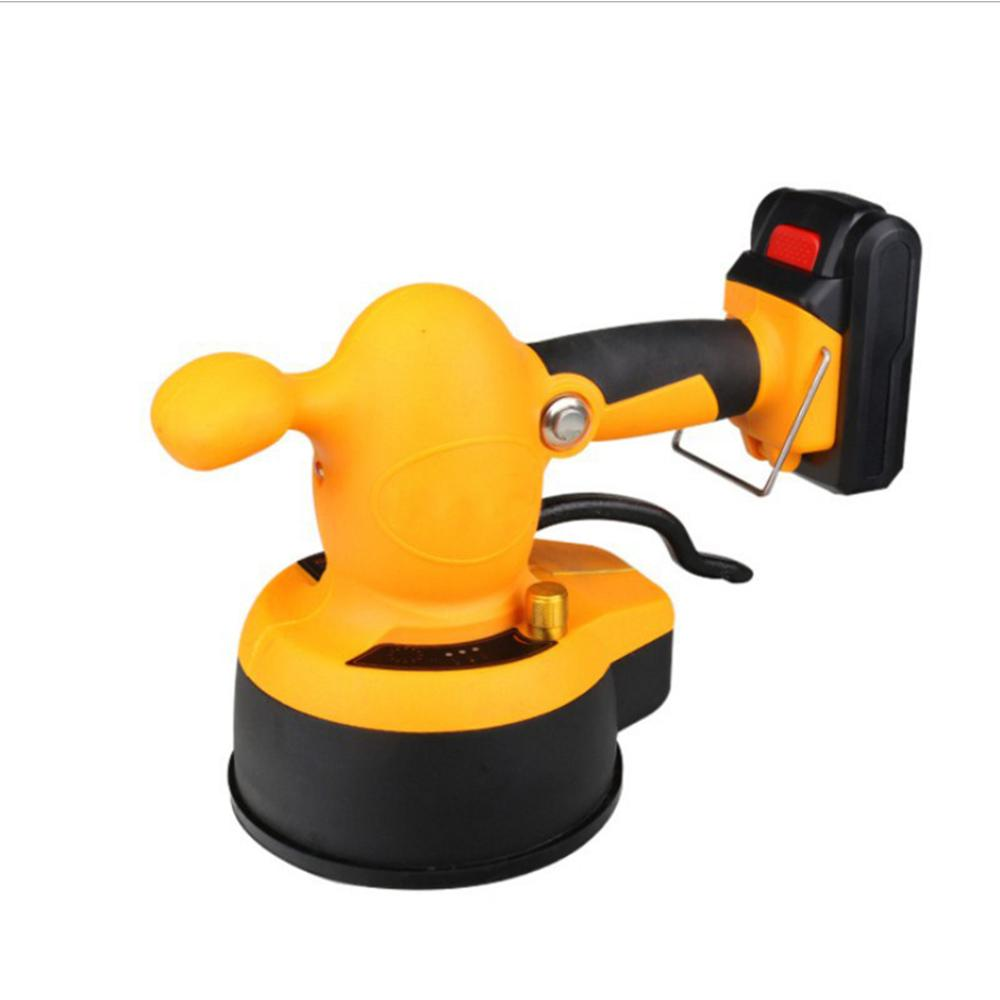 Tile Leveling System 21V Construction Tools Small Level Floor Tile Machine Lithium Battery Portable Tiling Machine Decoration