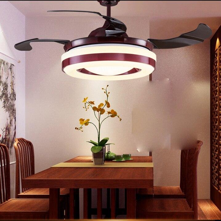 LED Nordic Iron Ակրիլային Առաստաղի Fan.LED - Ներքին լուսավորություն - Լուսանկար 3