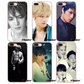 For Samsung Galaxy S3 S4 S5 MINI S6 S7 edge S8 Plus Note 2 3 4 5 Grand Core Prime KPOP ROCK JYJ Yuchun Jaejoong Junsu Case