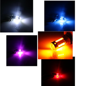 Image 5 - 2pcs לבן 30 SMD 4014 H3 LED החלפת נורות רכב ערפל אורות, אורות בשעתי יום, DRL מנורות קרח כחול צהוב