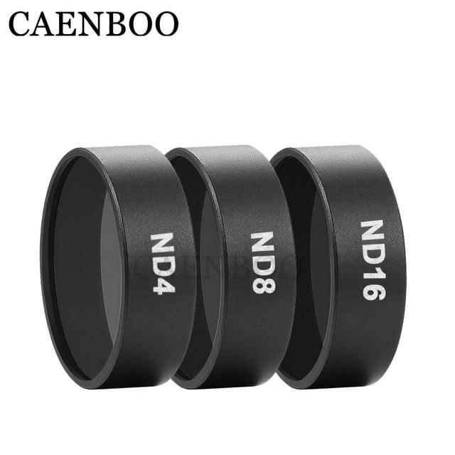 CAENBOO Mavic Air Drone Camera Filters ND 4 8 16 Circular Filter Protector Neutral Density Filter For DJI Mavic Air Accessories
