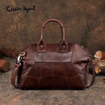 Cobbler Legend 2019 New Arrival Genuine Leather Women Handbags Fashion Crossbody Bags Female Handbag Trend Bag Bolsas #0900507-1 - DISCOUNT ITEM  45% OFF All Category