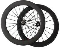 Good Quality 20inch Fold Kid Road Bike 20 Carbon Fiber Wheels Bmx 451 Wheelset Front 100mm