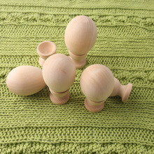 DIY Wooden Easter Eggs with Cups