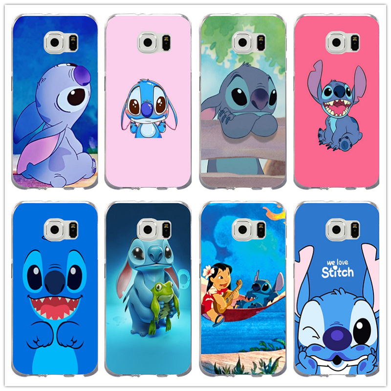 Phone Pouch Phone Bags & Cases Sincere Cute Cartoon Stich Coque Shell Soft Silicone Tpu Phone Case For Samsung Galaxy S6 S7 Edge S8 S9 Plus Note 9 Note 8