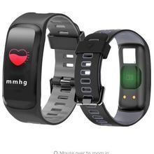 F4 Inteligente Pulseira De Fitness Heart Rate Monitor de Oxigênio No Sangue medidor de Pressão Arterial Inteligente banda Pedômetro Pulseira Inteligente Para IOS Android