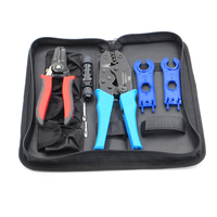 MC4 Crimping tool for MC4 connector solar cable 2.5m2 4mm2 6mm2 PV Crimp Cutting tools kits DIY wire