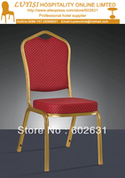 Function Aluminum Banquet chair LYS L303,Mould memery seat with high density,commercial fabric,5 year warranty.