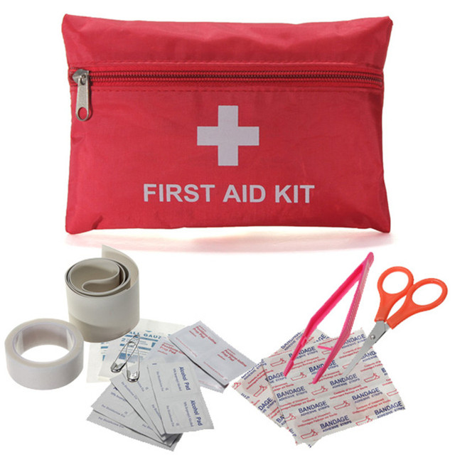 Hot Sale Professional Emergency Survival Outdoor First Aid Kit Bag Treatment Pack Durable Travel Outdoor Rescue Medical Tools