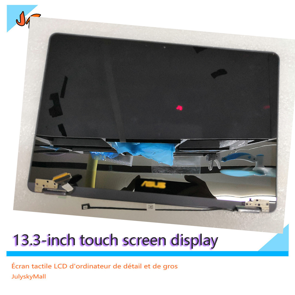13.3-inch LCD Screen For ASUS Zenbook Q325 Q325UA Q325UAR FHD 1920X1080 LCD Touch Display Screen ASUS LOGO