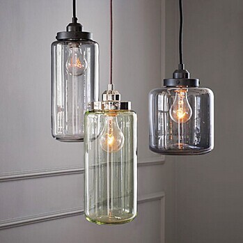 IWHD Vintage Industrial Loft Style LED Pendant Lights E27*3 Retro Glass Bottle Pendant Lamp RH Hanglamp Fixtures Home Lighting loft rh vintage pendant lights glass