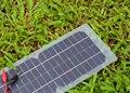 Semi-flexível 10 W 18 V Painel de Células Solares Transparentes com Saída DC + crocodilo clipe 440*190mm mini painel solar para diy e teste