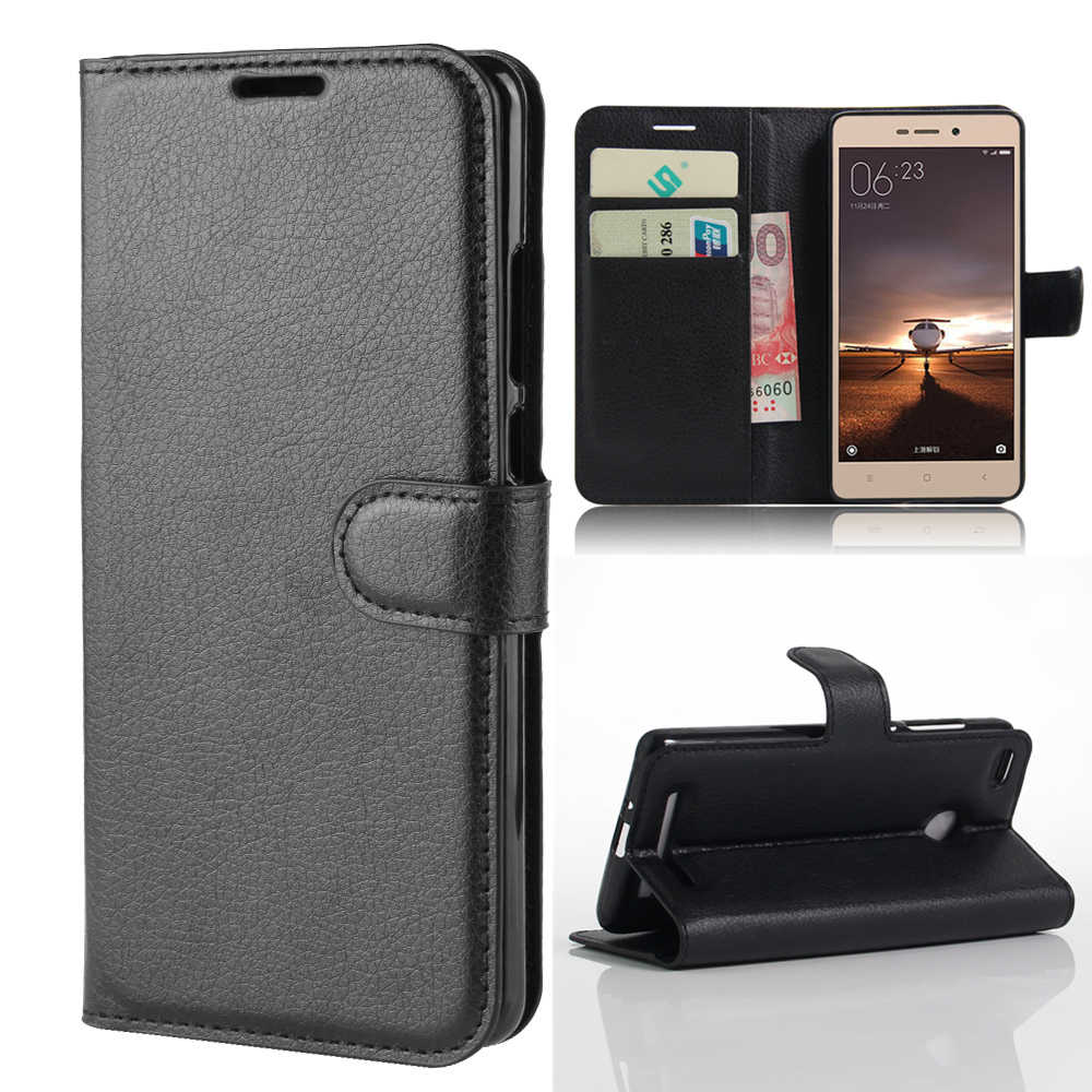 for Xiaomi Redmi 3s Wallet Cover Card Holder Phone Cases for Xiaomi Redmi 3s ( Redmi 3 Pro ) Leather Case