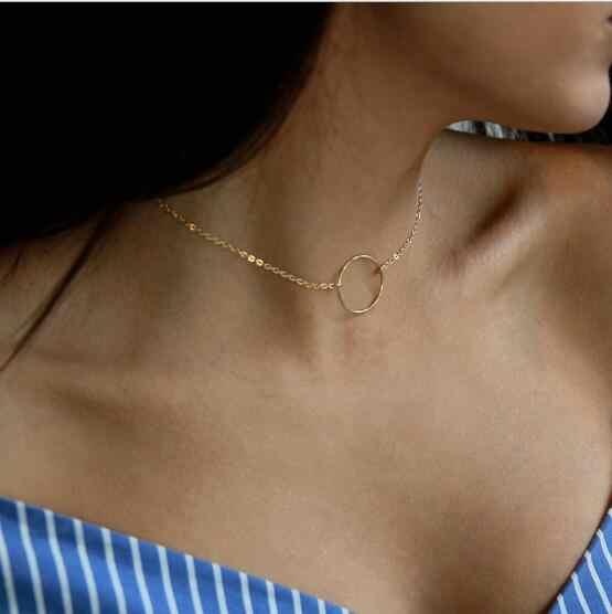 Seblasy gorąca sprzedaż Party biżuteria wielowarstwowe trójkąty księżyc gwiazdy kropelki wody kryształowy łańcuch naszyjniki dla kobiet oświadczenie prezenty