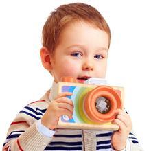Новая моя первая камера для детей играть калейдоскоп фото объектив Новая красная Детская камера малыш игрушки дети-35