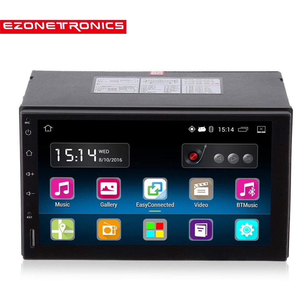 2din Android 5.1 Car Radio Stereo 7 pollice Touch Screen Capacitivo Ad Alta Definizione 1024x600 GPS di Navigazione Bluetooth USB SD Player