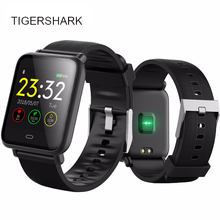 Bluetooth Smart Watch men TIGERSHARK Smartwatch For IOS Android Phone Call Remind Camera Calories Heart rate  Reloj inteligente стоимость