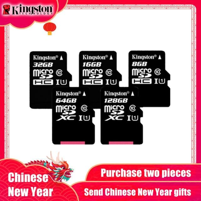 Classe Kingston 10 16 Cartão Micro SD GB 32 GB 4 8 GB Classe MicroSDHC Cartão de Memória Cartão Micro SD UHS-I 64 GB MicroSDXC TF Cartão MicroSD
