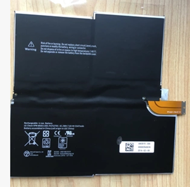 Nouvelle batterie d'ordinateur portable pour Microsoft Surface Pro 3 1631 G3HTA005H MS011301