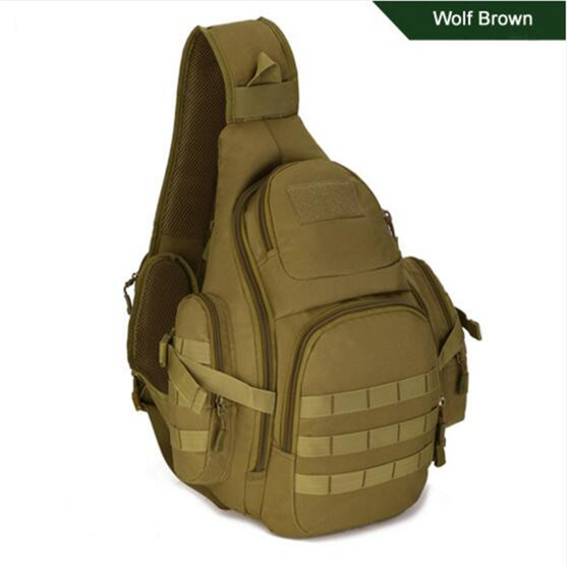 Men's Bags Single Shoulder Bag Large Capacity Backpack Bag The Chest Package Dual-use  14 Inch Laptop Bag High Grade Wearproof
