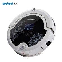 Robot Aspirador con Mando a distancia, Anti Caída Aspirador Inteligente de Pantalla LCD, Seebest C571, Almacén de rusia