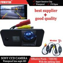 Fuwayda беспроводной SONY CCD заднего вида Обратный Парковка с Руководство линии камеры для Audi A3 S3 A4 S4 A6 a6L S6 A8 S8 RS4 RS6 Q7