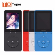 2016 Nuevo Llega El MP3 Original RUIZU X20 Ultrafino 8 GB Reproductor de MP3 Con Pantalla de 1.8 Pulgadas FM, E-libro, reloj, Datos, Radio, Record