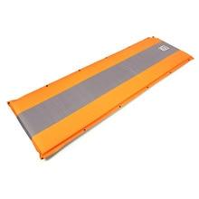 AOTU Self Inflating sponge Sleeping Mat Camping Mattress Air Bed Single Roll Up (Orange)