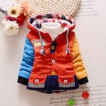 Hiver Bébé Garçon Veste Enfants Survêtement Manteau Mode Garçon Manteau Bébé Fille Veste Chaud À Capuche Enfants Vêtements Enfants Vêtements