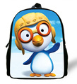 12-inch Mochila Pororo Backpack Kids Bags Girls Shoulder Bag Mini Children Boy School Bag Pororo Print Bolsa Infantil Menina