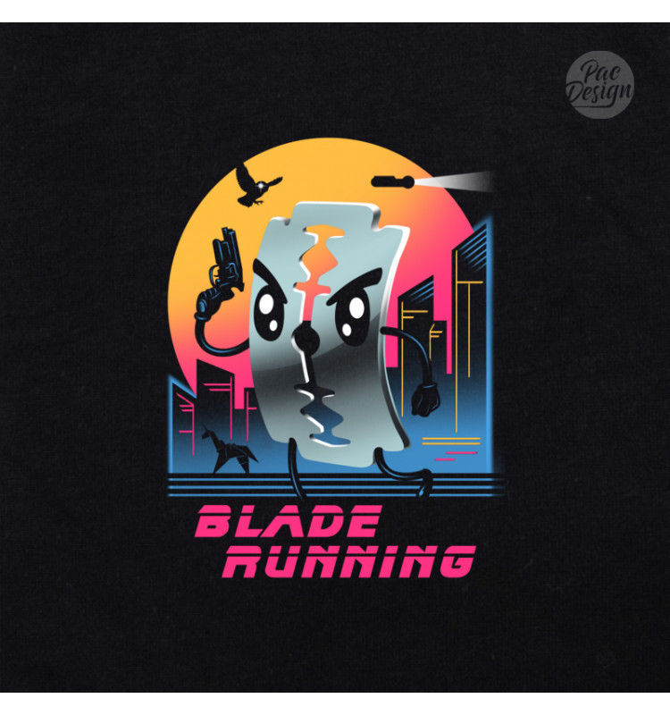 T-SHIRT MAN BLADE RUNNING RUNNER MOVIES VT0013A PACDESIGN Casual Printed Tee