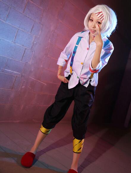 Tokyo Ghoul Costume Juuzou Suzuya Full Set Cosplay