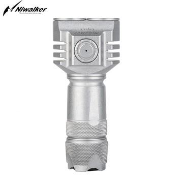 Niwalker MM6S(cG)305ST мини фонарики высокой мощности, USB Перезаряжаемый мини многофункциональный фонарь, 3500 лм, маленький фонарь для кемпинга